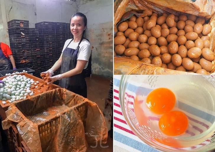 S  15458310 01 - 熱血採訪   傳承四代的佶利蛋行竟然賣起蛋黃酥!現場免費試吃,自家紅土鹹鴨蛋製作