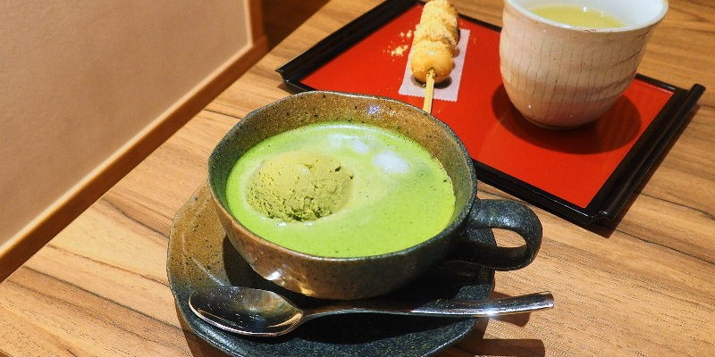 Machiya 町家咖啡,小巧可愛的日式茶屋,有著精緻的抹茶甜點。(台中下午茶/台中抹茶店/台中日式甜點/台中咖啡館/台中霜淇淋/台中日式刨冰)