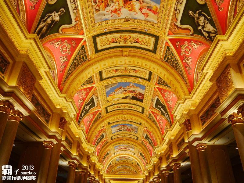 澳門威尼斯人「大運河購物中心」~ (星光之橋、大利來記豬扒包、安德魯蛋撻)