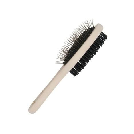 Cepillo para mascotas de bambú