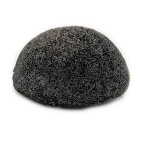Esponja de konjac con carbón