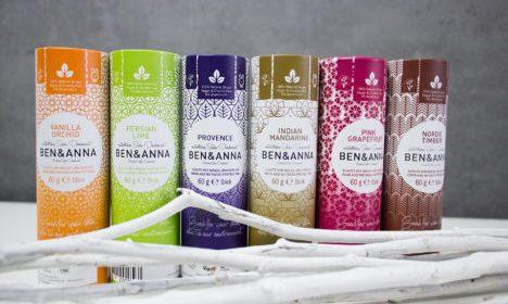 Desodorante natural de bicarbonato