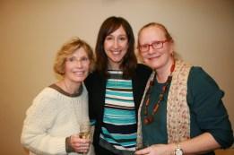 Diane Allenberg, Elizabeth Stevens, and Deborah Breen
