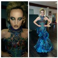 One of the looks from todays photo shoot