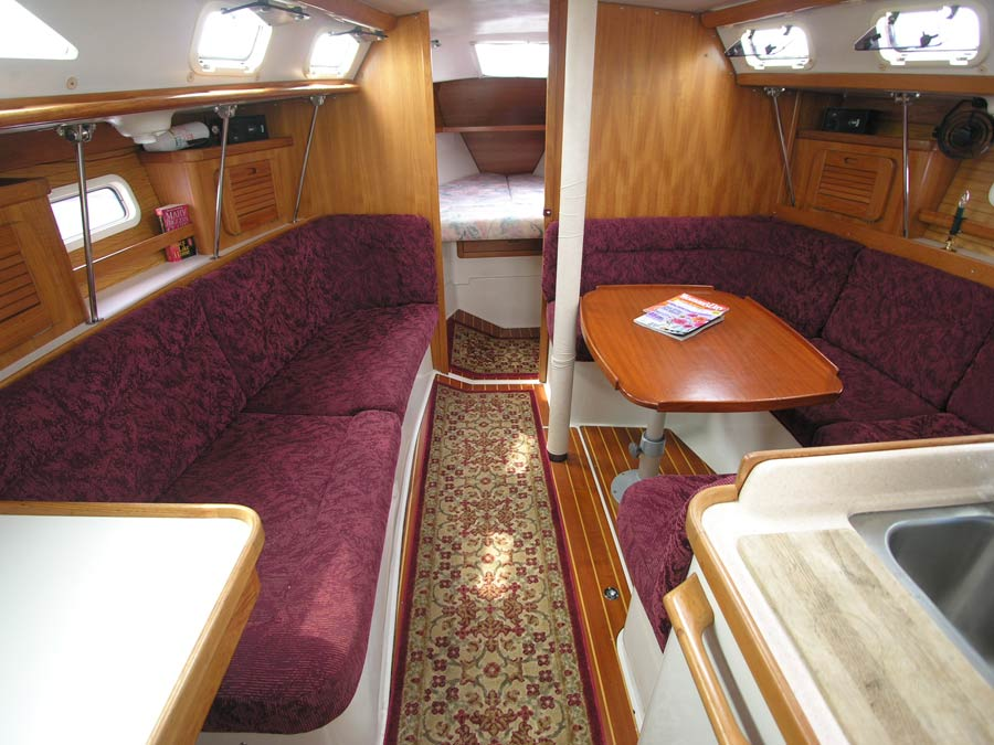CampC 37 1984 For Sale By Jan Guthrie Yacht Brokerage
