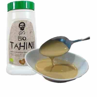 Tahini Ecólogico (Tahin, pasta de sésamo)