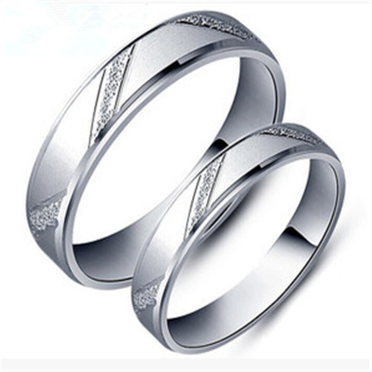 Fashion Men Women Jane Love 925 Sterling Silver Couple
