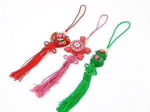 3 Piece Set of Good Fortune Feng Shui Tassels