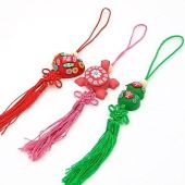 3 Piece Set of Good Fortune Feng Shui Tassels