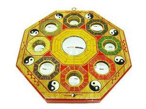 9 Inch Convex Early Heaven Pakua Mirror