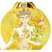 Bejeweled Fertility White Tara Brings Children Luck
