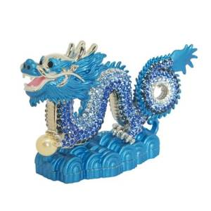 Bejeweled Imperial Water Dragon