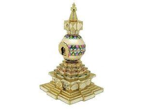 Bejewelled Kalachakra Stupa
