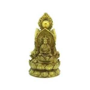 Brass Trinity Buddha1