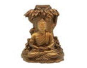 Buddha Meditating Under Bodhi Tree