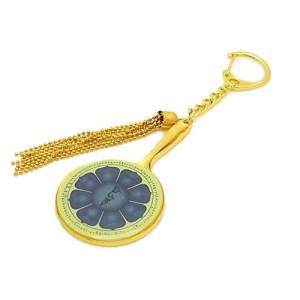 Eight Petal Lotus Mirror Amulet of Manjushri1