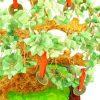 Extravagant Green Aventurine Crystal With 9 Coins Money Tree5