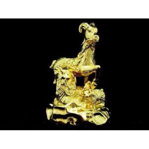 Golden Prosperous Three Generation Goat1