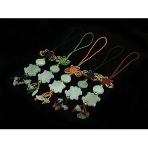 Jade Double Happiness Hanging for Marriage Luck1