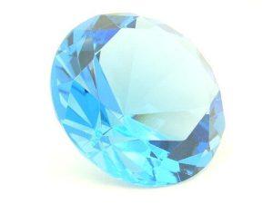 Light Blue Wish Fulfilling Jewel For Healing Energies - 80mm1