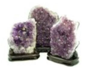 Natural Amethyst Cluster Geode (2100g to 2450g)