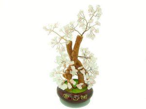 Rose Quartz Crystal Gem Tree for Love1