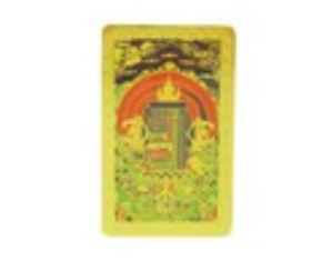Sacred Tibetan Kalachakra Protection Card