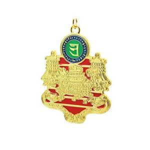 Wealth and Success Key Ring Amulet1