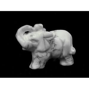White Marble Baby Elephant1
