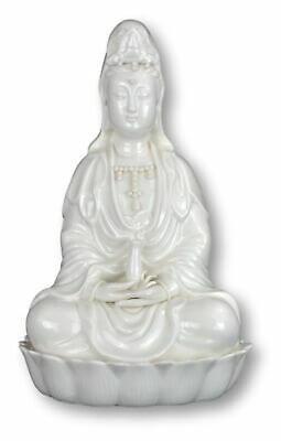 White Seated Kuan Yin