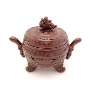 Zisha Clay Pi Xiu Incense Burner1