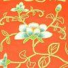 10Crt Gold Thread Silk Embroidered Flower Mat2