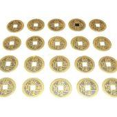 20 Auspicious I-Ching Coins