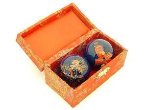 Blue Dragon And Phoenix Chinese Health Balls1