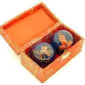 Blue Dragon And Phoenix Chinese Health Balls1