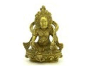 Brass Mini Jambhala God of Wealth