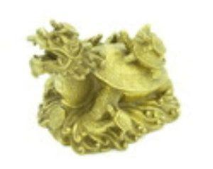 Dragon Tortoise and Happy Family