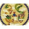 Feng Shui Dragon and Phoenix Enamel Cloisonne Plate5