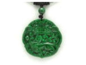Feng Shui Pi Xiu Jade Pendant Necklace