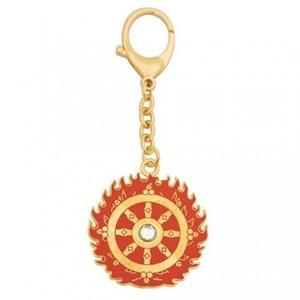 Flaming Magic Wheel Talisman