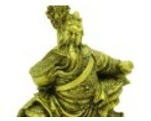 God of War Kwan Kong in Horse-Stance
