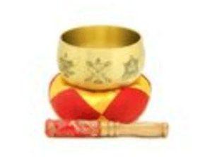 Golden 8 Auspicious Singing Bowl