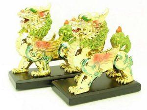 Golden Money Bringing Winged Pi Yao1