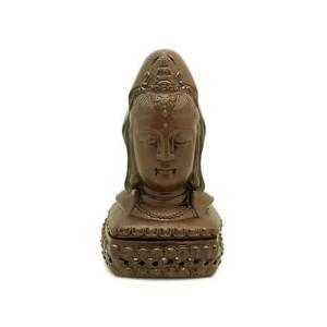 Guan Yin Head Feng Shui Incense Burner1