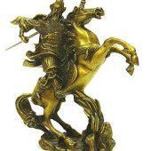 Kuan Kong Charging on Horse