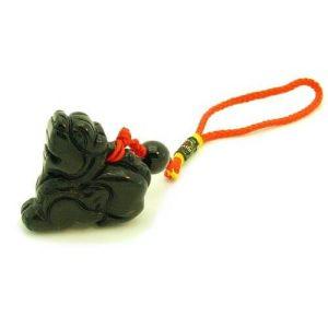 Obsidian Feng Shui Pi Yao Hanging (L)1