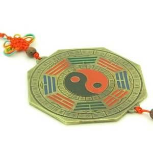 Pakua Mirror Amulet with 12 Zodiac Animals1