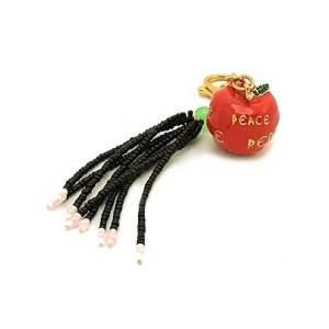 Peace Red Apple Tassel1