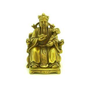 Tua Peh Kong Holding Gold Ingot & Ru Yi1