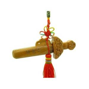 Wooden Feng Shui Sword Tassel1